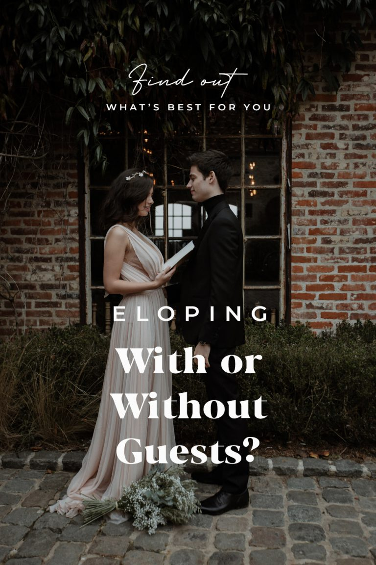 Eloping with or without guests?